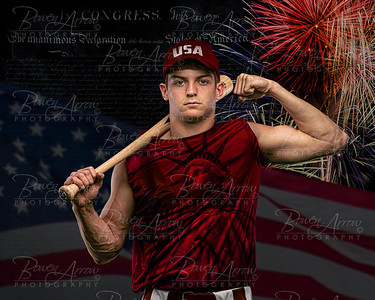 Baseball Chase Soulliere Independence Day