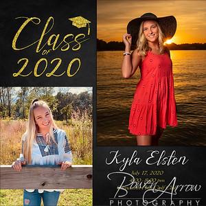 Kyla Elsten 2020 Invite 5 x 5 Front