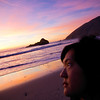 December 11, 2010<br /> <br /> Almost a month later, my next Daily is actually at the same beach, relatively same time of day, but with different peeps.<br /> <br /> I don't wanna jinx it, but Big Sur sure does have some nice sunsets.