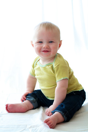 Sebastian 6 months