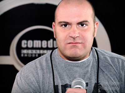 Comedian Mike Finoia MikeFinoia.com