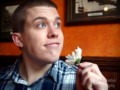 Comedian Dan Burgess
