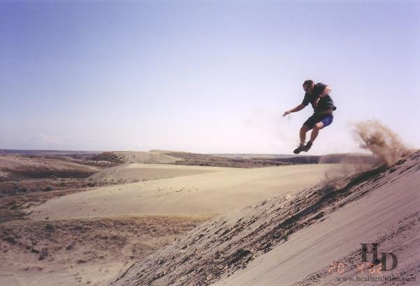 Sand dunes 2002