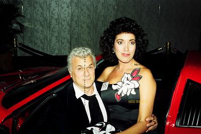 Tony Curtis & Carol DeVito 1988 0004PatLam 0004