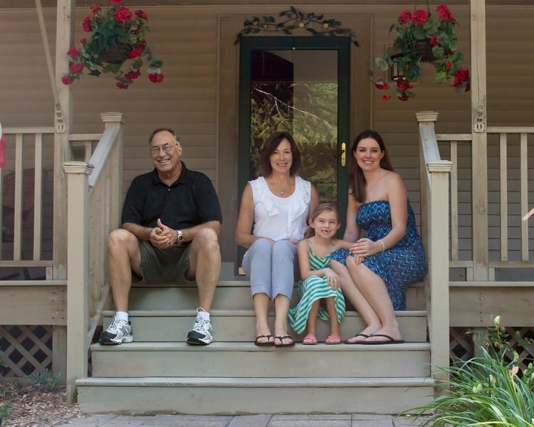 Family Portrait, Judy A Davis Photography, Tucson, Arizona<br /> Photoshop composite - two photos taken on two different days.