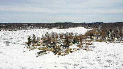 Prospect Point in Thousand Island Park - February 2019