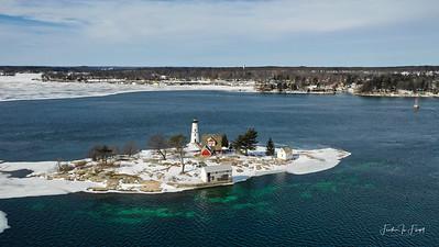 Rock Island Lighthouse 3 - February 2019
