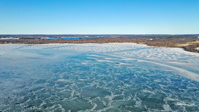 Ice Blue Eel Bay - January 2019