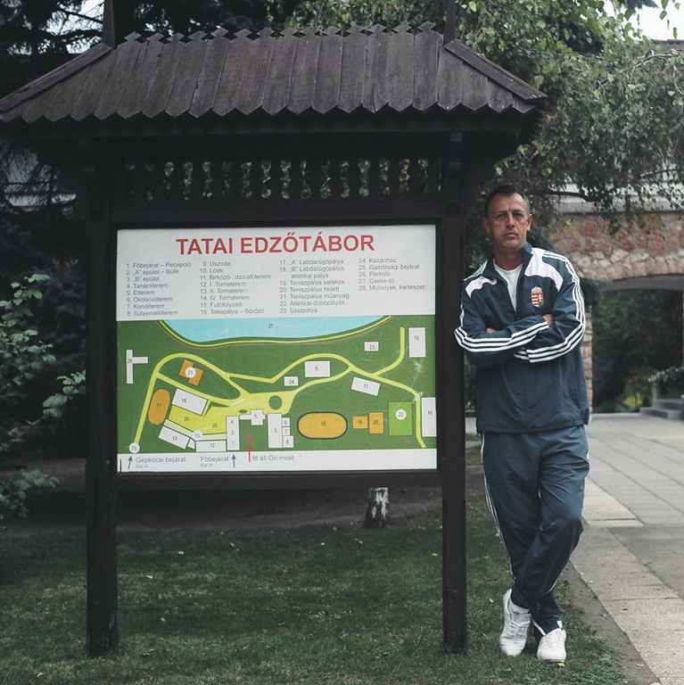 Florian Albert - Football trainer of a Hungarian National youth team
