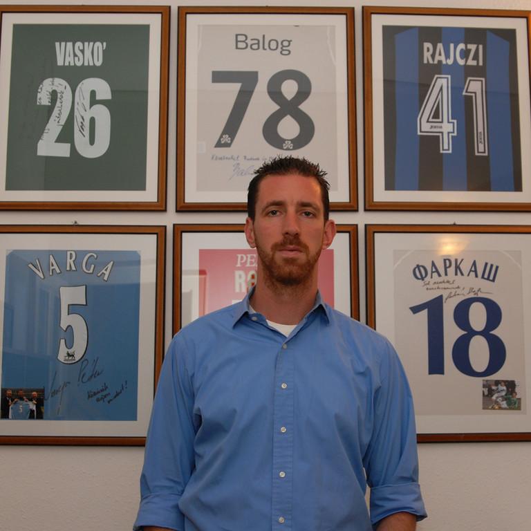 Janos Hrutka - Licensed FIFA agent