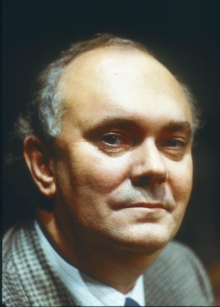 Alan Ayckbourn Playwright 1986