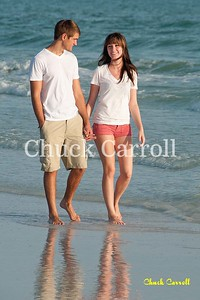 Alaxa McDonalld Shoot - Siesta key Beach- with James Corwin Johnson