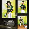 All Star Baseball 3 image collage Sample3-Zach - Available in 8x10 or 11x14 sizes