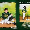 All Star Baseball 2 image collage Sample2-Zach - Available in 8x10 or 11x14 sizes