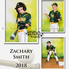 All Star Baseball 3 image collage Sample4-Zach - Available in 8x10 or 11x14 sizes