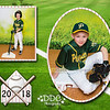 All Star Baseball 2 image collage Sample1-Zach - Available in 8x10 or 11x14 sizes