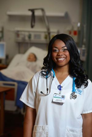 Praise Pettus, University of West Florida Nursing Student.