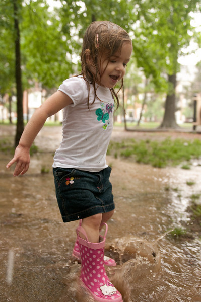Aly's Rainy Day at the Park