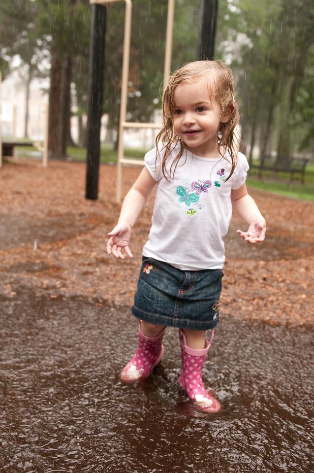 Aly's Rainy Day at the Park