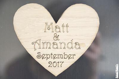 Amanda + Matt Reception
