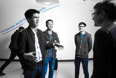 Amplitude  San Francisco  Spenser Skates , CEO Curtis Lio, CTO Jeffrey Wang, Chief Architect @Amplitude_HQ  @curtisbliu @paladin314159 