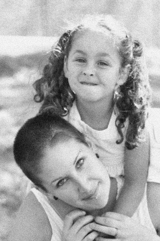Andrea and Mackenna