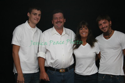 Angie and family 2010