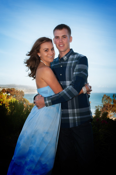 Jordan and Jennifer 1 year wedding anniversary Dana Point CA