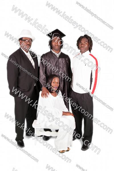 Anthony Washington Jr. Grad/Family Photos
