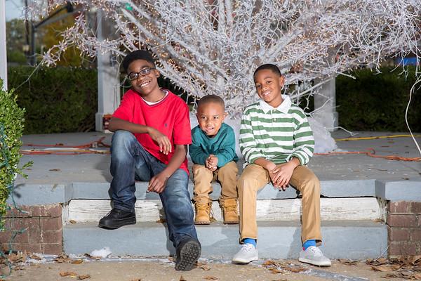 April and Family Christmas
