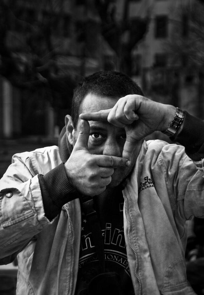 Mental patient, Buenos Aires, Argentina, 2010.