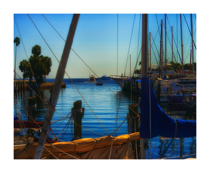 St  Pete Pier canvas size