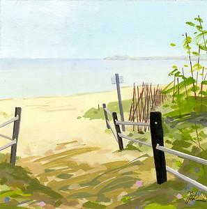 Joan Richmond, Path to Van's Beach