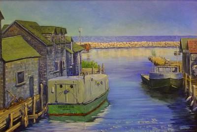Michelle Jahraus - Fishtown Faithfuls,  24x36