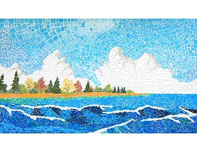 Herb Holdwick - Lake Michigan Surf