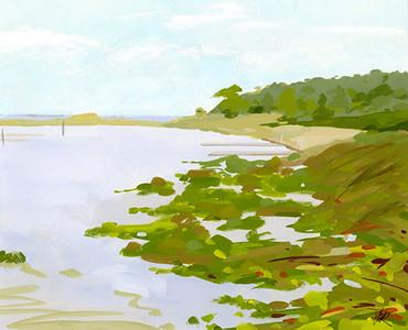 Joan Richmond, North of Leland Harbor