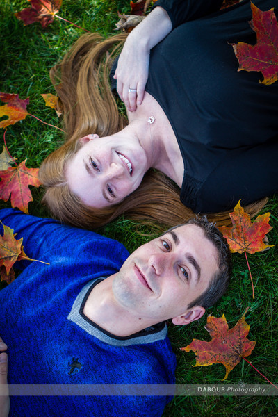 Ashley & Matt stop by for some engagement photos on a beautiful fall afternoon at Merrill Creek