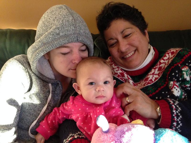 3 Generations of Nunez Women