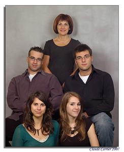 Fernande et ses enfants