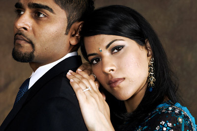 Avani & Chetan portaits