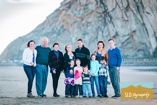 Awbrey Family ~ Morro Bay