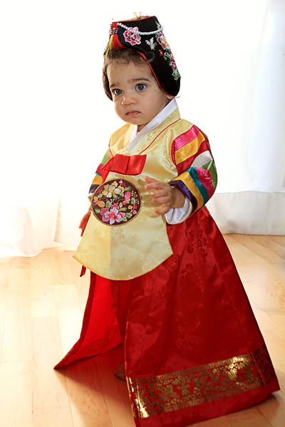 American Korean Doll