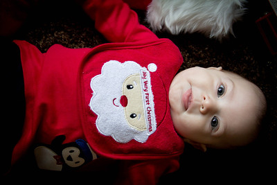 Kevin First Christmas-5