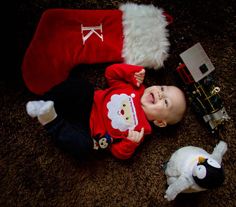 Kevin First Christmas