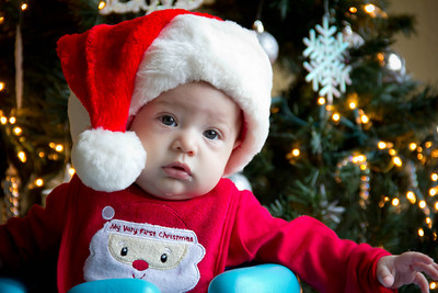 Kevin First Christmas-12