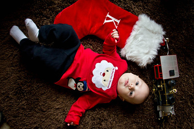 Kevin First Christmas-7