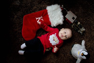 Kevin First Christmas-4