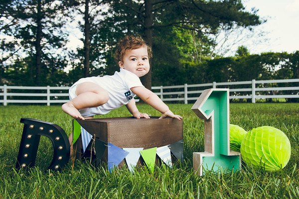 Baby Dylan {1 year old}