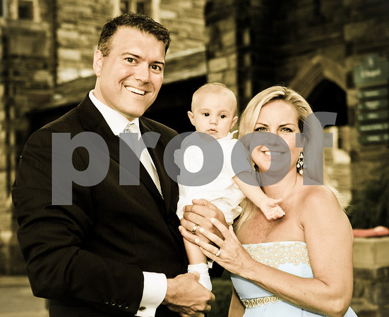 Hall Family Portraits - Baptism