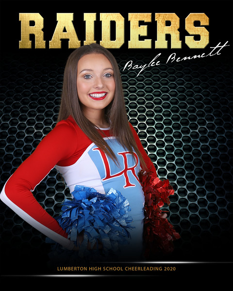 8x10 School Spirit Baylee